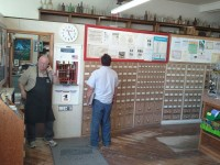 The merc and post office in Koosharem. A step back in time.