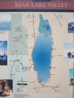 Visitor's sign about Bear Lake.